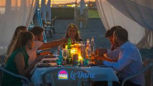 Beach-Cabana - Cena al tramonto