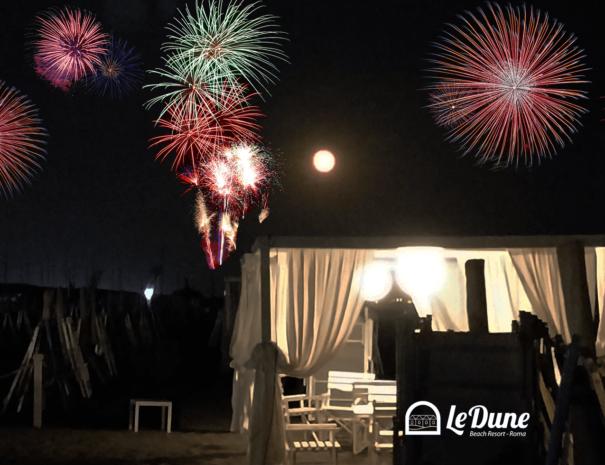Fuochi d'artificio - 85 anni de Le Dune